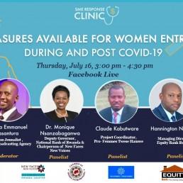 Relief Measures for Women Entrepreneurs