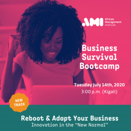 Covid19 Business Survival Bootcamp